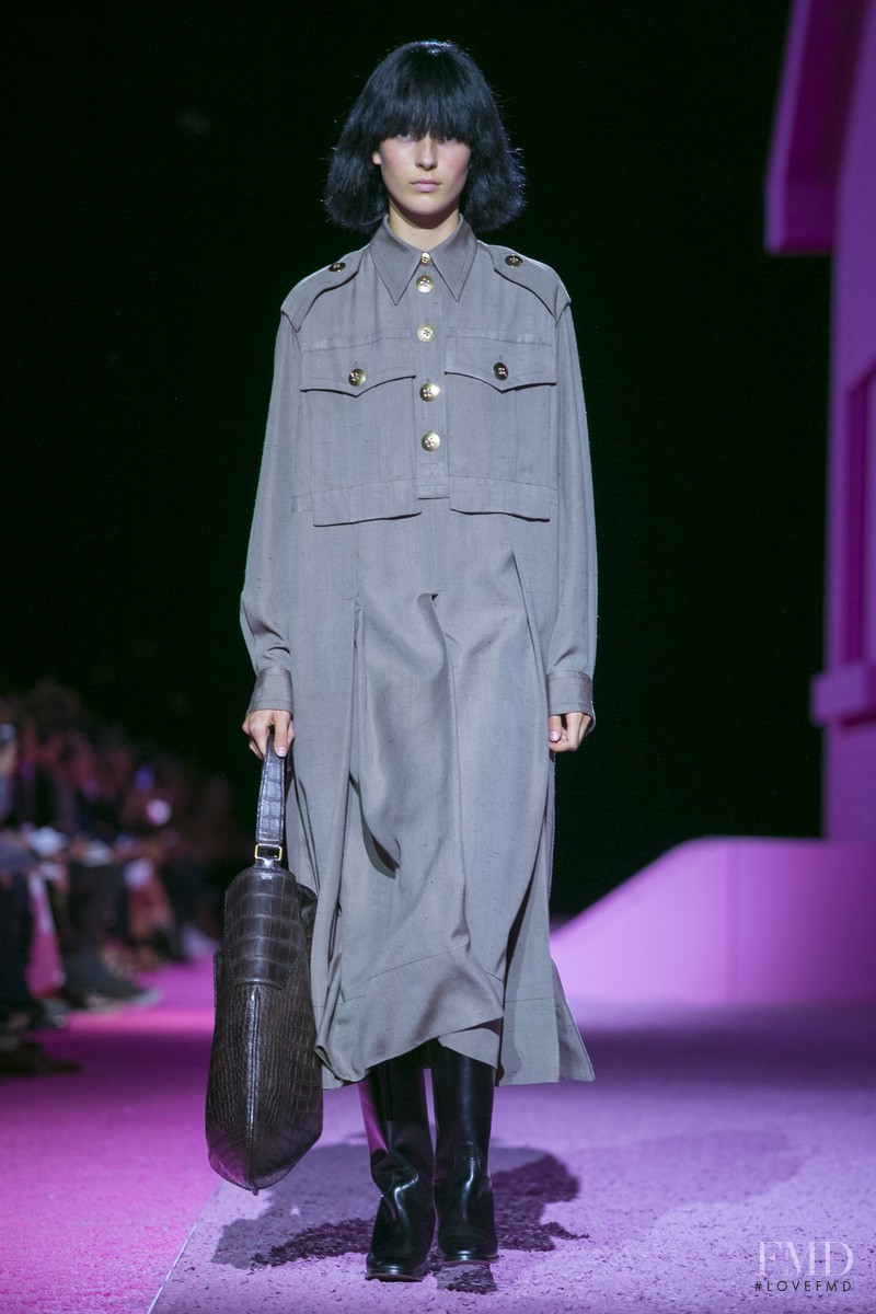 Julia Bergshoeff featured in  the Marc Jacobs fashion show for Spring/Summer 2015