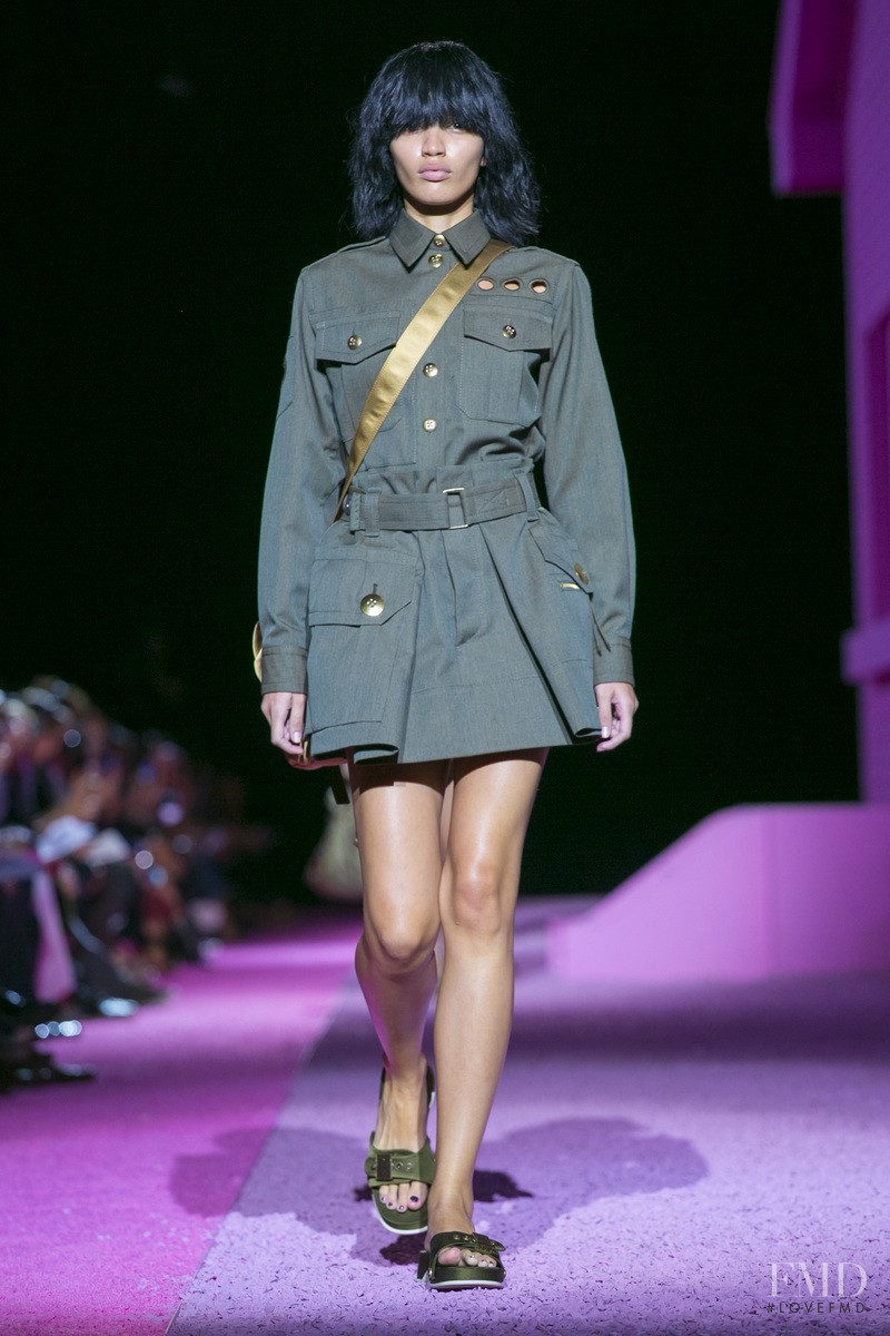 Veridiana Ferreira featured in  the Marc Jacobs fashion show for Spring/Summer 2015