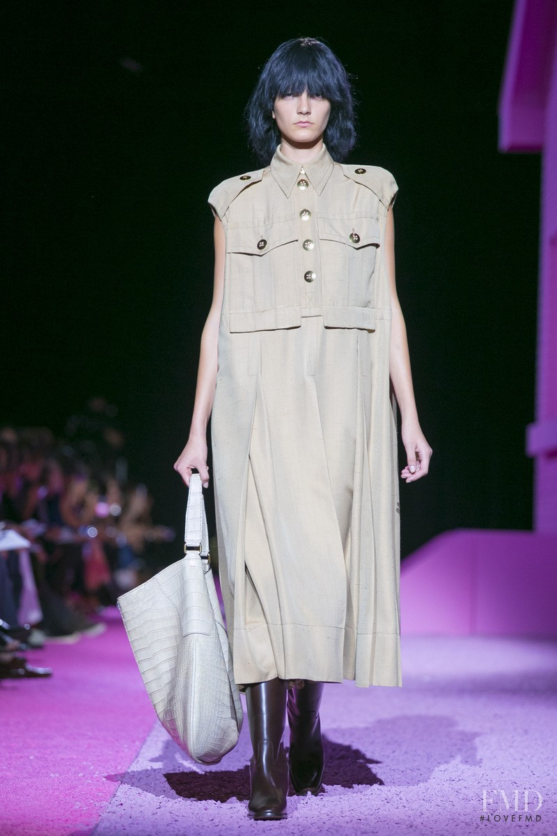 Natali Eydelman featured in  the Marc Jacobs fashion show for Spring/Summer 2015