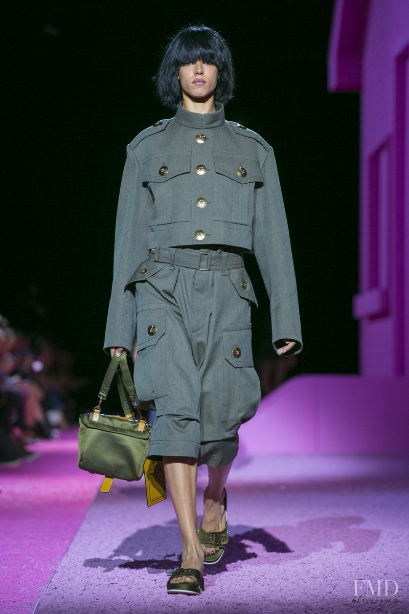 Hind Sahli featured in  the Marc Jacobs fashion show for Spring/Summer 2015