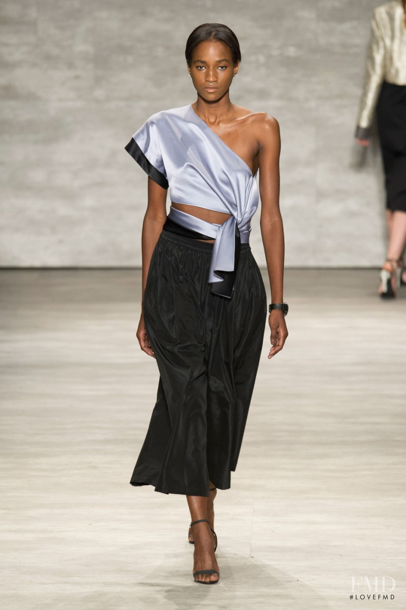 Janica Compte featured in  the Tome fashion show for Spring/Summer 2015