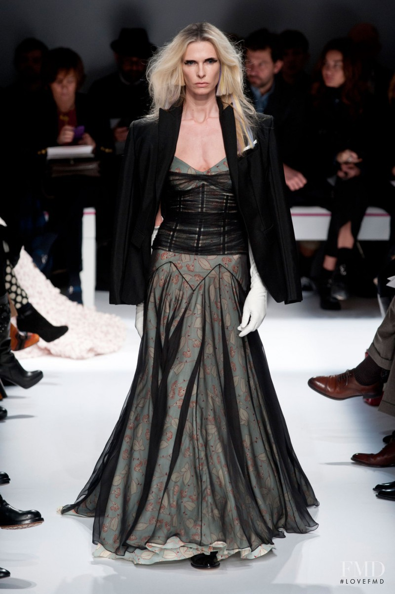 Christina Kruse featured in  the Schiaparelli fashion show for Spring/Summer 2015
