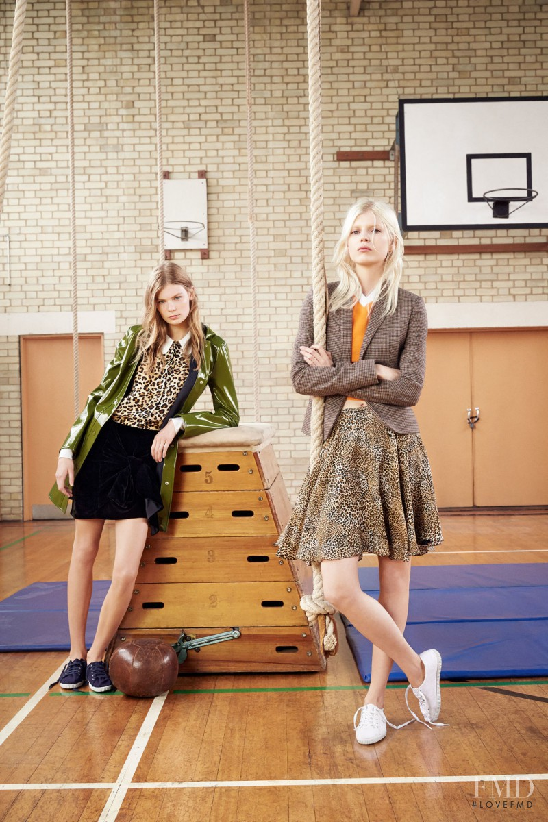 Alexandra Elizabeth Ljadov featured in  the Zara TRF catalogue for Autumn/Winter 2014