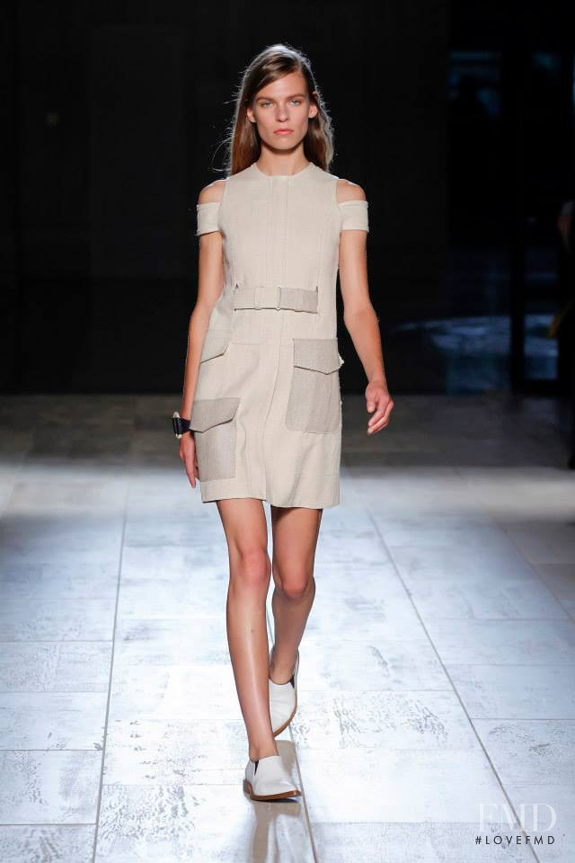 Katharina Hessen featured in  the Victoria Beckham fashion show for Spring/Summer 2015