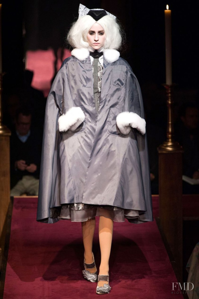 Thom Browne fashion show for Autumn/Winter 2014