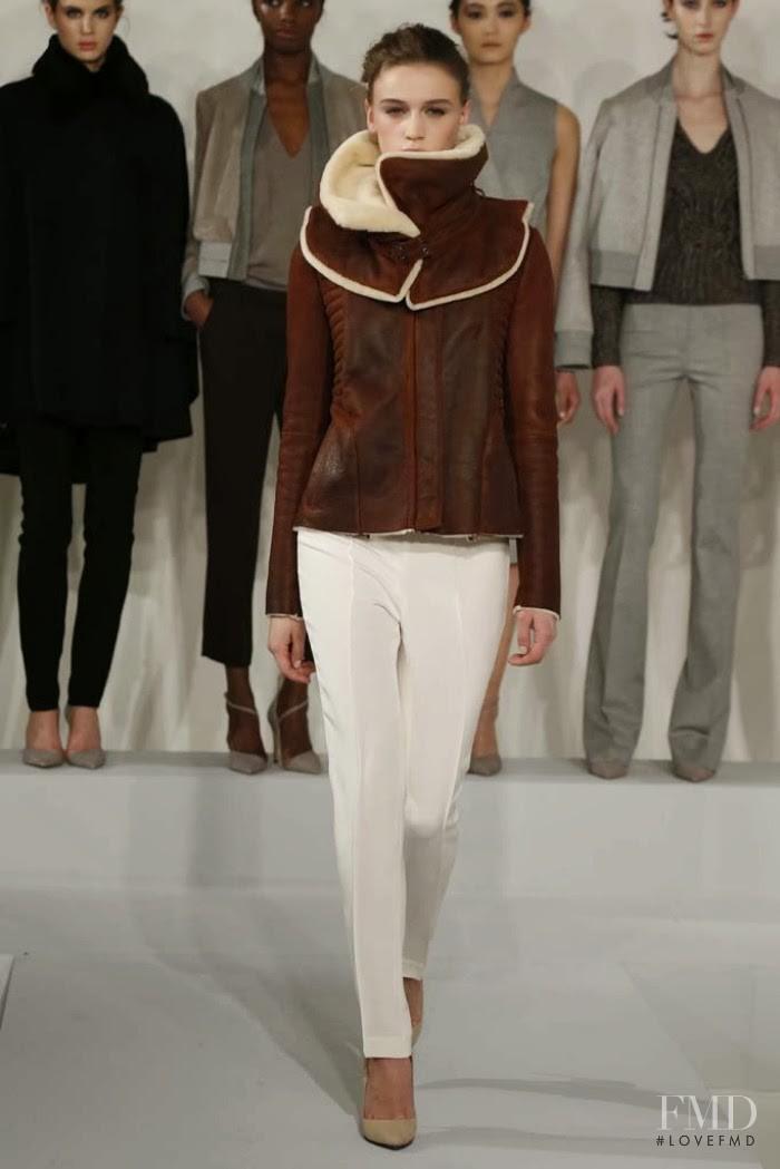 Nellie Partow fashion show for Autumn/Winter 2014