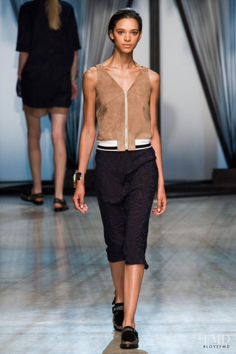 Frida Munting featured in  the Damir Doma fashion show for Spring/Summer 2015