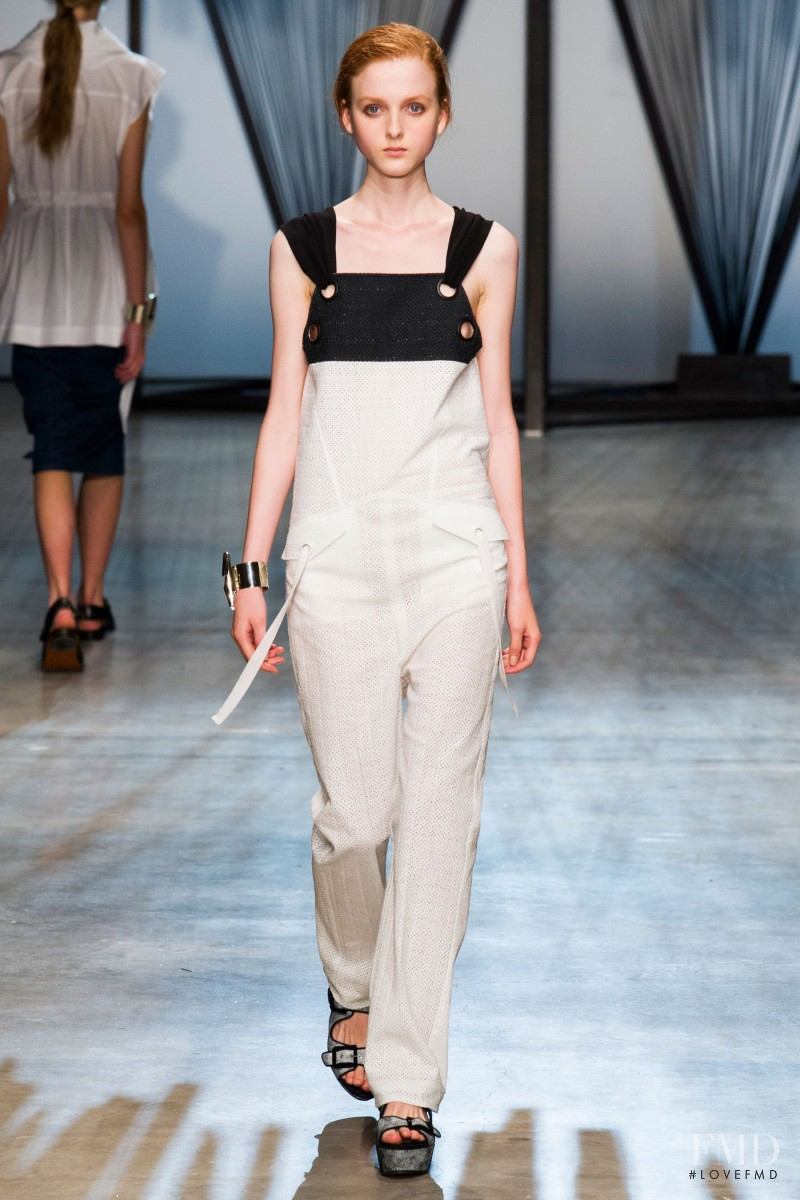 Madison Stubbington featured in  the Damir Doma fashion show for Spring/Summer 2015