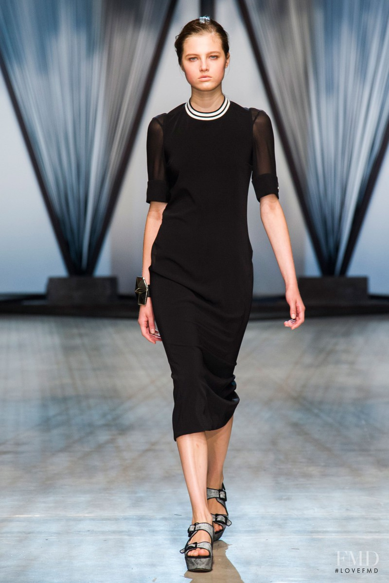 Daria Korchina featured in  the Damir Doma fashion show for Spring/Summer 2015