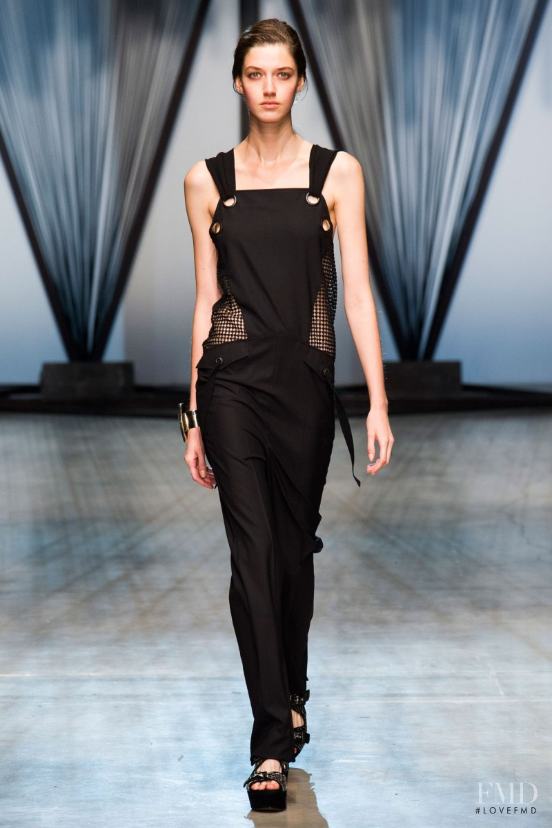 Josephine van Delden featured in  the Damir Doma fashion show for Spring/Summer 2015