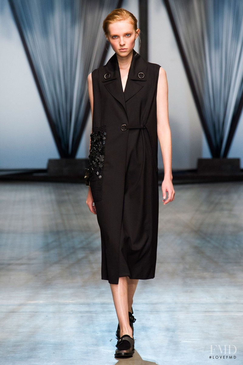 Kimi Nastya Zhidkova featured in  the Damir Doma fashion show for Spring/Summer 2015