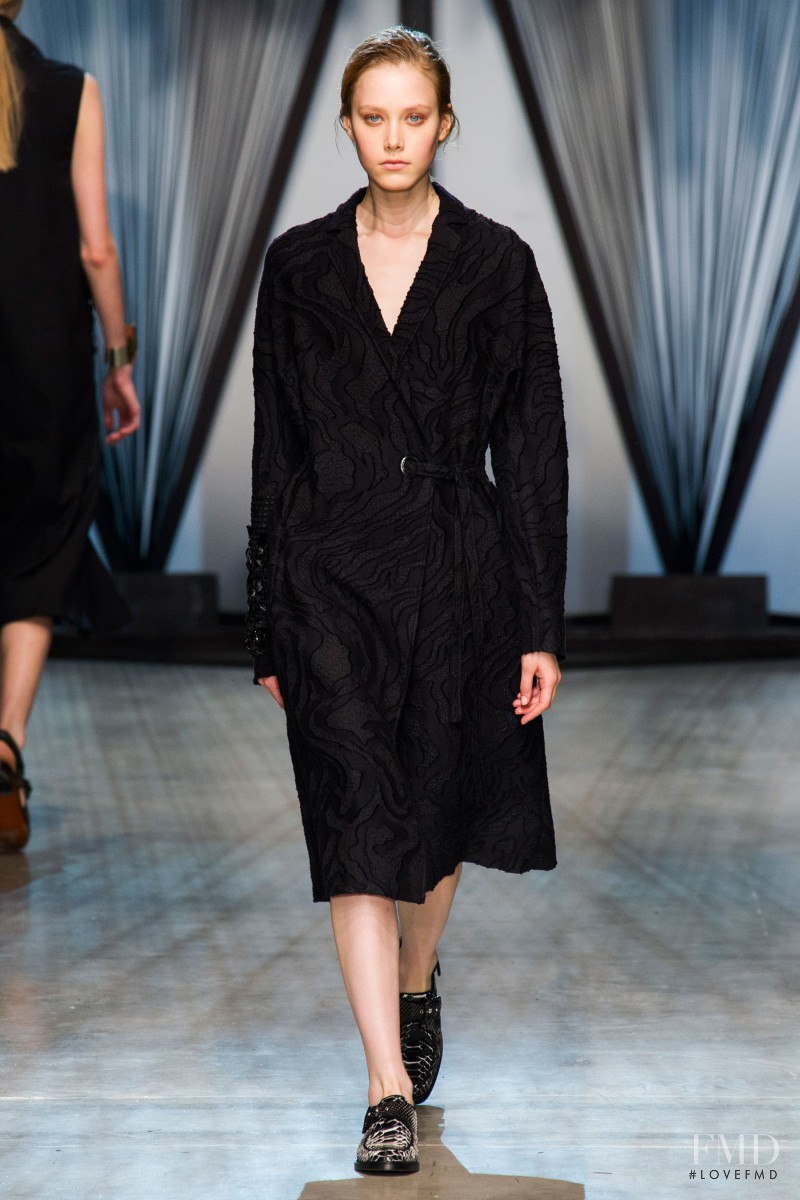 Margarita Pugovka featured in  the Damir Doma fashion show for Spring/Summer 2015