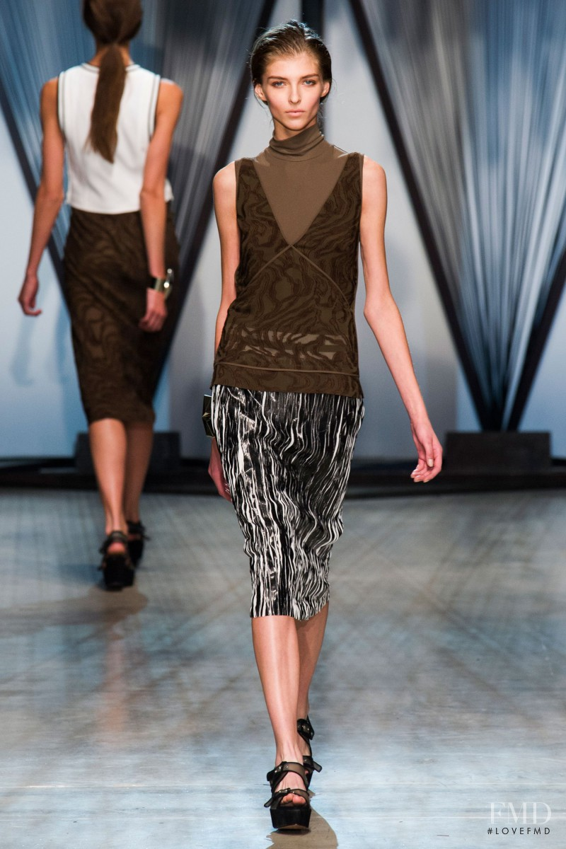 Anastasia Lagune featured in  the Damir Doma fashion show for Spring/Summer 2015