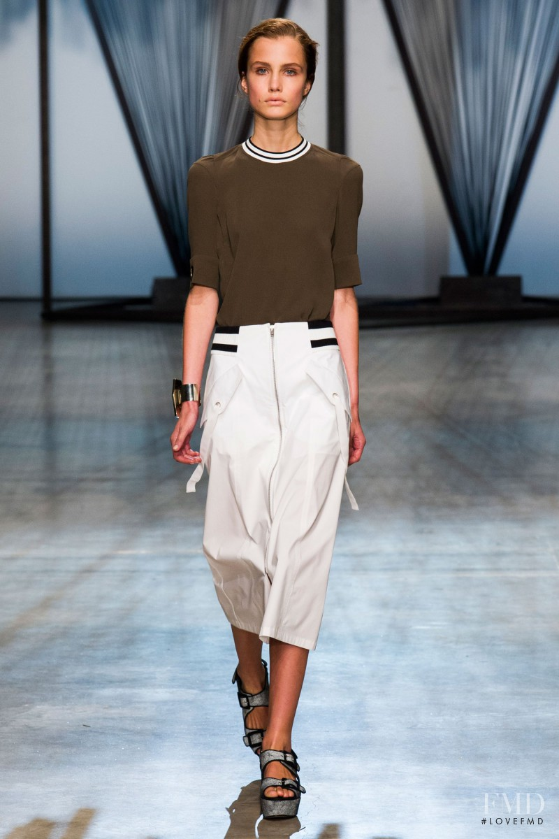 Julie Borawska featured in  the Damir Doma fashion show for Spring/Summer 2015