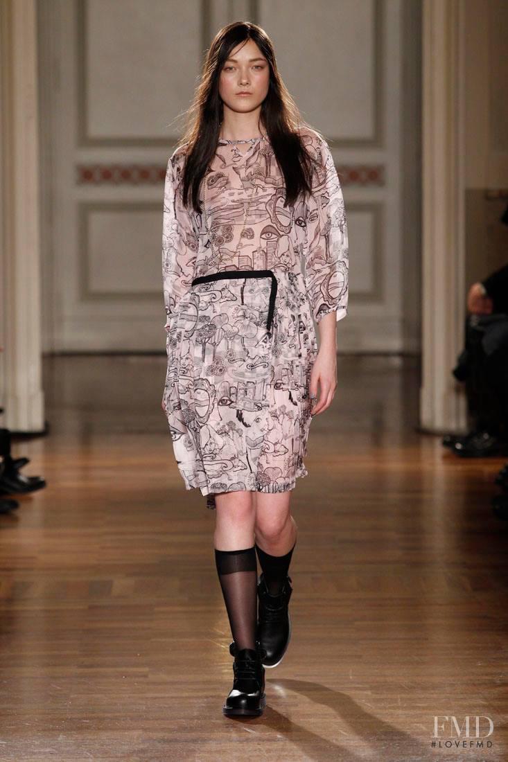 Frankie Morello fashion show for Autumn/Winter 2014