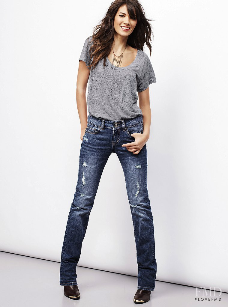 Sheila Marquez featured in  the Victoria\'s Secret catalogue for Fall 2013