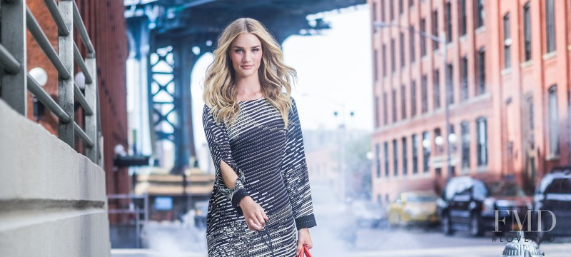Rosie Huntington-Whiteley featured in  the Liverpool advertisement for Autumn/Winter 2014