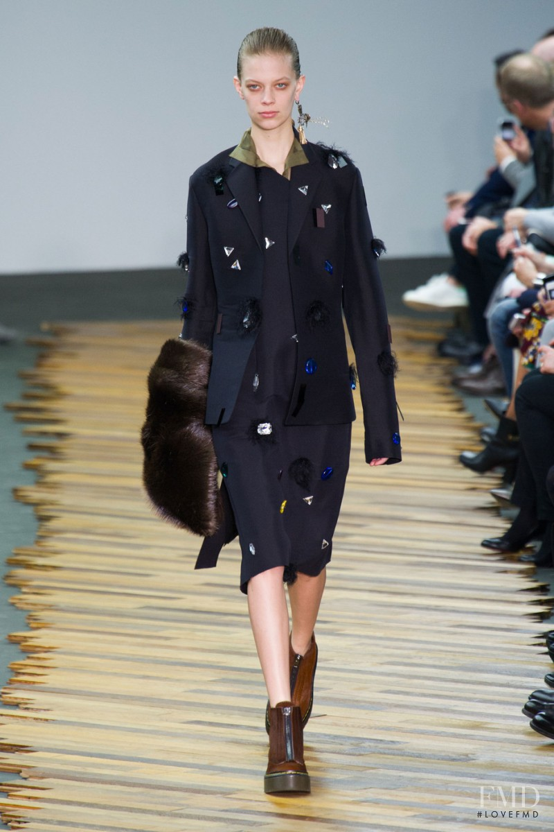 Lexi Boling featured in  the Celine fashion show for Autumn/Winter 2014