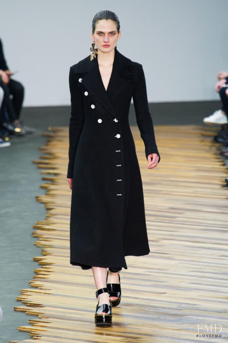 Alba Pistolesi featured in  the Celine fashion show for Autumn/Winter 2014