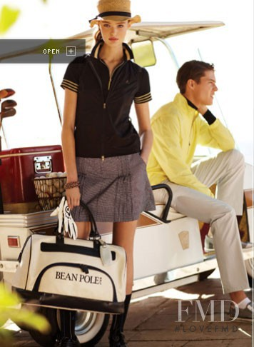 Katie Fogarty featured in  the Bean Pole catalogue for Spring/Summer 2010