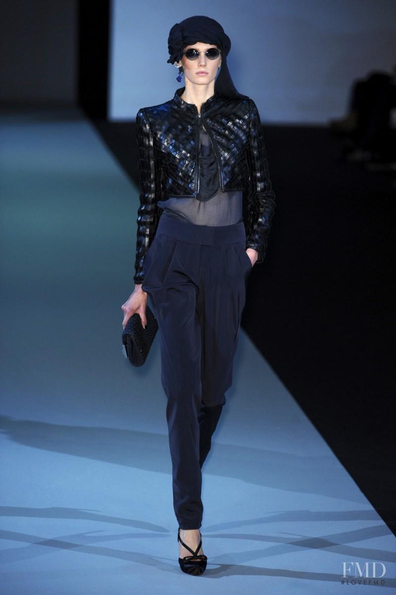 Giorgio Armani fashion show for Spring/Summer 2011