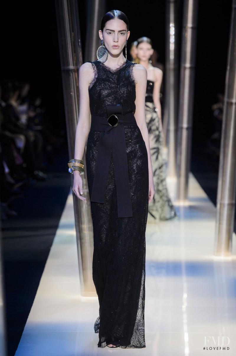 Tako Natsvlishvili featured in  the Armani Prive fashion show for Spring/Summer 2015