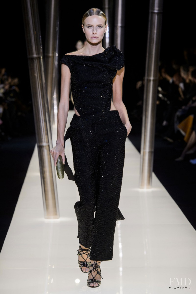 Phenelope Wulff featured in  the Armani Prive fashion show for Spring/Summer 2015