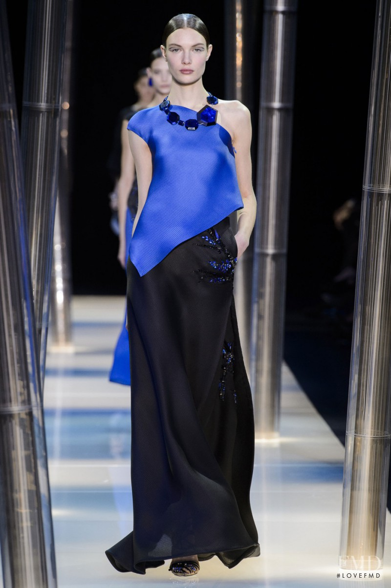 Armani Prive fashion show for Spring/Summer 2015